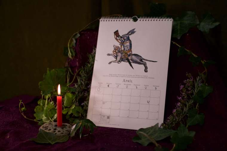 Witches Calendar 2018 1