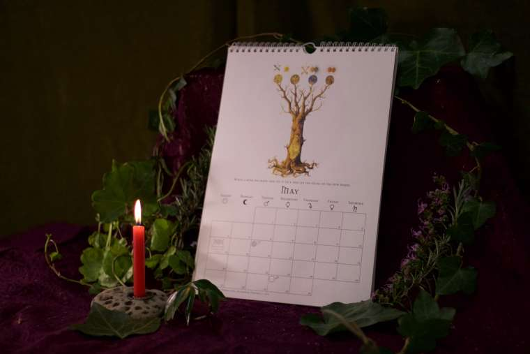 Witches Calendar 2018 2