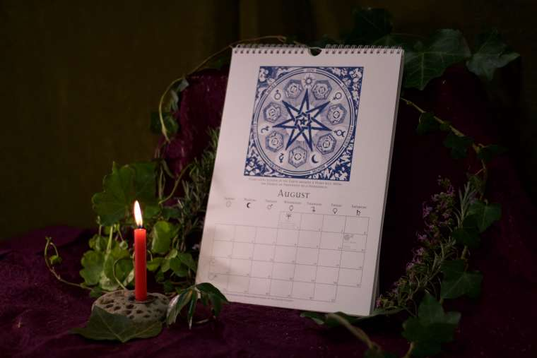 Witches Calendar 2018 3