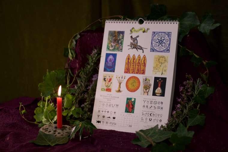 Witche's Calendar 2018 5